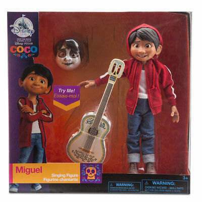 Disney Pixar Coco Miguel Singing Figure New with Box