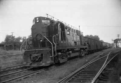 orig neg - PRR # 8618 at Hagerstown MD 1956