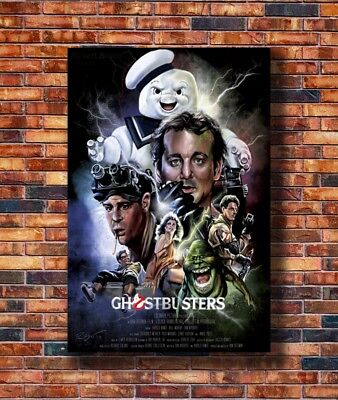 P-425 Art Ghostbusters Movie 1984 LW-Canvas Poster 21 24x36in