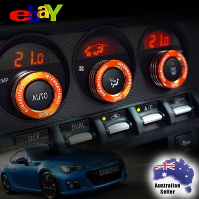 Toyota 86, Subaru BRZ AC TRD STI Switch Knob trim AC Knob covers