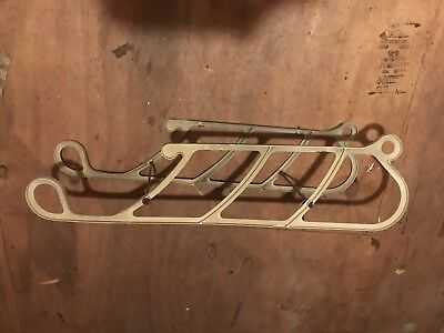 Vtg Poloron Replacement Sleigh Runners Only Parts Repair For Santa Sleigh