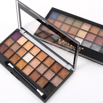 MISS ROSE 24 color pearl matte eye shadow 2 group color IO