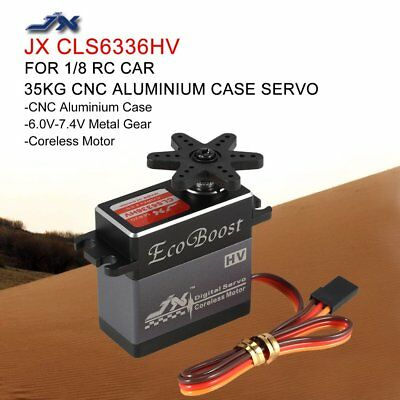 JX CLS6336HV 35KG Digital Metal Gear Coreless Servo for 1/8 RC Car Airplane DB