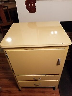 Antique Sunbeam Mixmaster cabinet