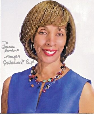 Catherine Pugh  Mayor of Baltimore, Maryland    Autographed  8 x 10 Color Photo