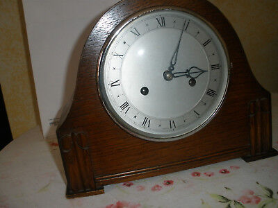 Vintage Smith Enfield Mantel clock 1940/50s Not Working