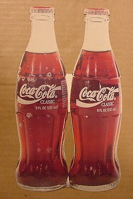 Coca-Cola Classic 8 ounce Bottles Postcard Made in Canada