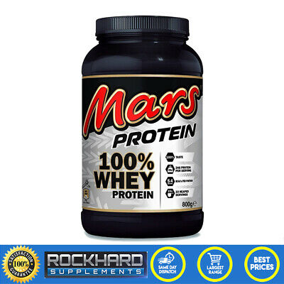 Mars 100% Whey Protein Powder 800g WPI WPC Mars Chocolate Protein Low Carb