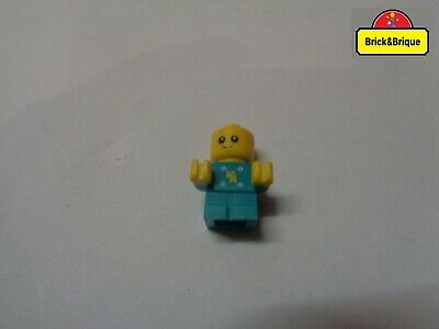 LEGO MINIFIG Baby Medium Azure Body Yellow Hands (cty894) set 60204 Neuf New