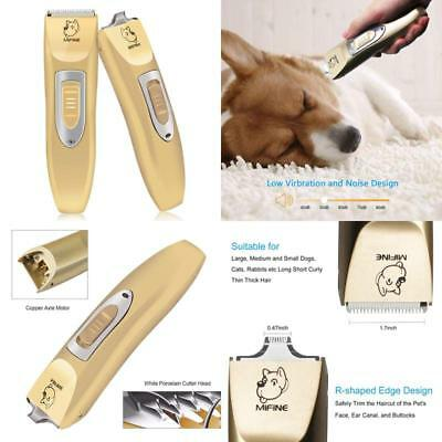 Mifine Professional Dog Clippers Kit Rechargeable - Dog Grooming Clippers And Co
