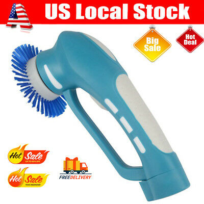 Handheld Power Scrubber Cordless With Rechargeable battery for Bathroom Kitchen