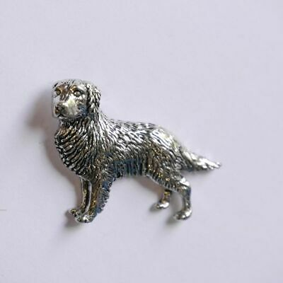Golden Retriever Perro Pin Broche Regalo Broche Agujón Adorno Decoración