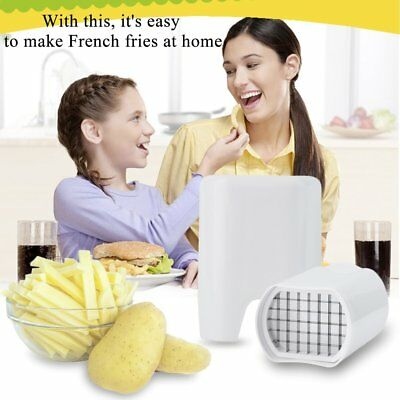 Kitchen Fries One Step French Fry Cutter Potato Vegetable Fruit Slicer Tool XW