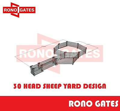 Sheep Yard Design Sheep Yard Panel & Gate