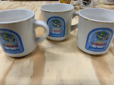 Boy Scouts - 1989 National Jamboree Mugs (3)
