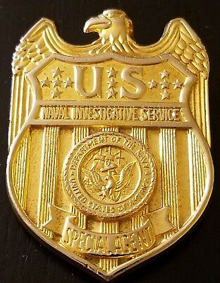 Beautiful Example  Of An Original Us Nis Sa Badge Hallmarked And Numbered