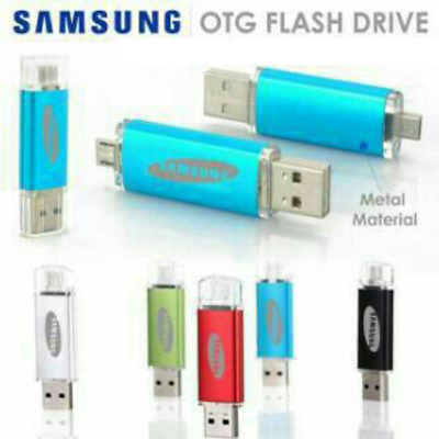 Samsung 8GB 16GB 32GB,64GB 128GB Dual USB 2.0 Flash Memory Pen Drive Stick