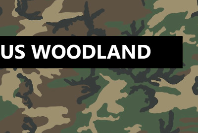 A4 Woodland Stencil Set DIY Plastic Camouflage Spray Paint Airbrush