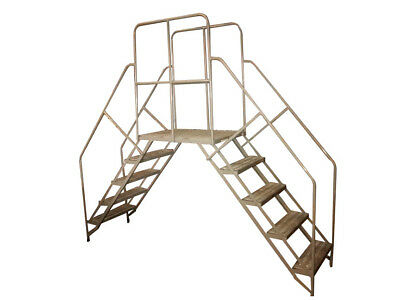 """Cotterman Double Entry Crossover Ladder 102"""" x 50"""" x 24"""""""