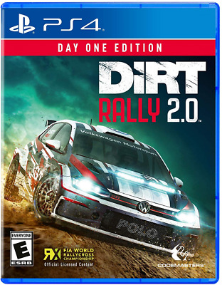 DiRT Rally 2.0 For PlayStation 4, Car Racing, Race Offroad, Official, PS4 Game