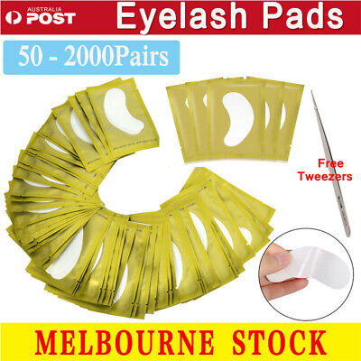 200 Pairs Eyelash Pad Eye Pads Gel Patch Lashes Extension Beauty Mask Eyepads