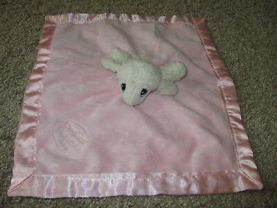 Precious Moments  Pink Baby Security Blanket Toy Lovey Plush LAMB