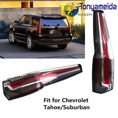 New Tail Lights Led Brake Cadillac Style Fits Chevrolet Tahoe Suburban 2017