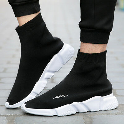 BALENCIAGA SPEED TRAINERS Black White & Black uomo donna