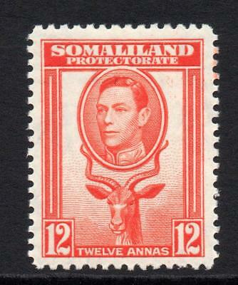 Somaliland 12 Cent  Stamp c1938 Mounted Mint (905)