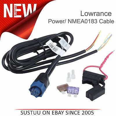Lowrance Power/ NMEA0183 Cable for HDS/ Elite-Ti & Hook Displays│PC-30-RS422
