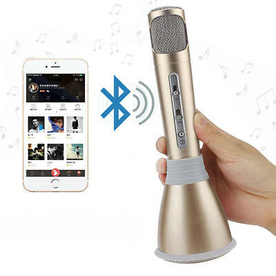 Microfono Altoparlante Bluetooth Wireless Con Speaker Karaoke Novita