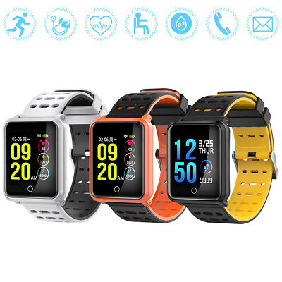N88 Bluetooth IP68 Impermeabile cardiofrequenzimetro Smartwatch Orologio Polso