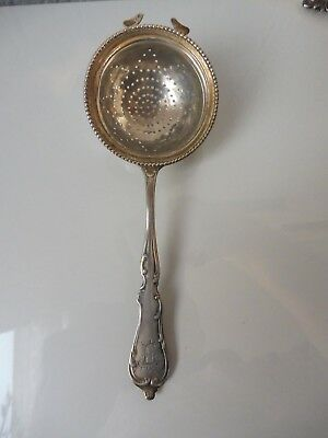 Pretty, Old Tea Strainer__800 Silver __ Sieve __