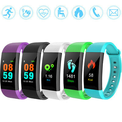 Smartwatch Orologio Cardiofrequenzimetro Fitness Tracker Sport Band IOS Android