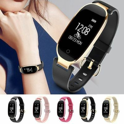 2018 impermeabile S3 Donne Orologio Smart Watch Calorie Fitness Track bracciale