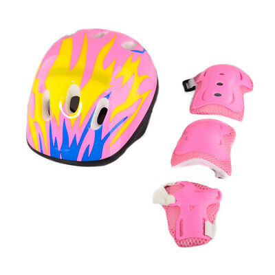 Elbow Wrist Knee Pads and Helmet Sport Safety Protective Gear Guard for Children