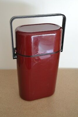 Decor 545 Australia Burgundy 2 Bottle BYO Insulated Wine Cooler Carrier