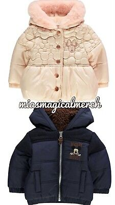 Brand New Baby Girl's/Boy's Disney Minnie/Mickey Mouse Waterproof Coats