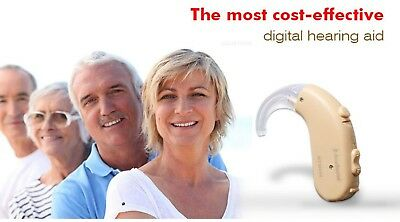 Hearing aid powerful BTE type for severe hearing loss amplifier Acomate 430