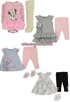 Brand New Baby Girl's Disney Minnie Mouse Clothing 4 To Choose From