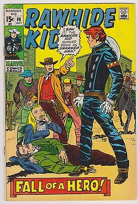 Rawhide Kid #80, Very Good Condition