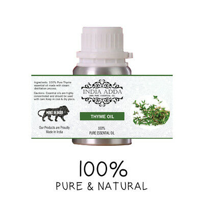 Thyme Oil Undiluted 100% Pure Natural Essential Oil 5 Ml To 100 Ml