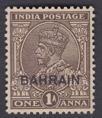BAHRAIN ON INDIA KG V 1a MNH SG 16 CAT £ 11