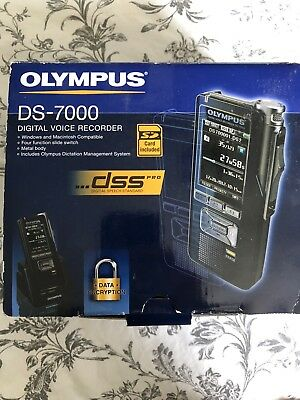 Olympus DS-7000 Digital Voice Recorder Dictation Machine - Hardly Used!