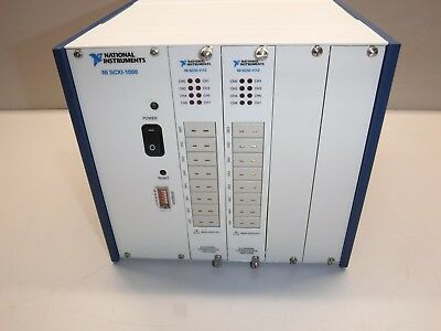 National Instruments SCXI-1000, SCXI-1112,SCXI-1112 Thermocouple Input Modules
