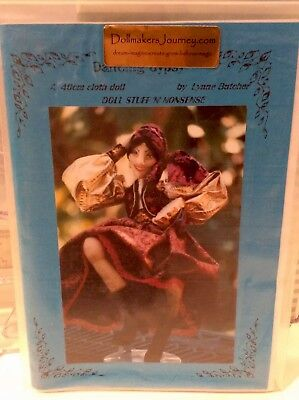 Cloth Doll Sewing Pattern 'Dancing Gypsy' By Lynne Butcher