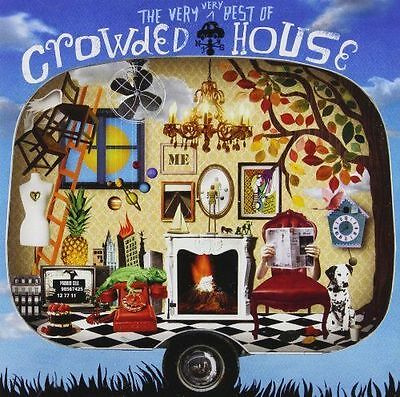 Crowded House - Very Very Best of Crowded House [New & Sealed] 2 CD SET
