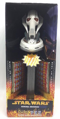 Giant Star Wars General Griveous Pez Candy Collectible Music Dispenser 2005
