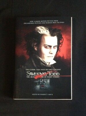 The Classic Tale Legend Sweeney Todd The Demon Barber Of Fleet St Johnny Depp