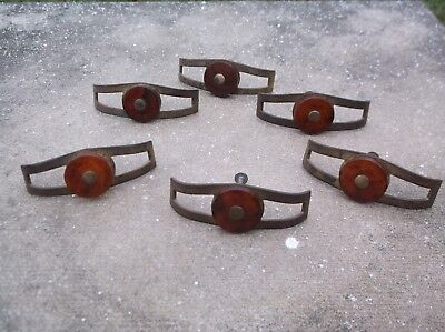Vintage Art Deco  Waterfall Bakelite Drawer dresser Pull  6